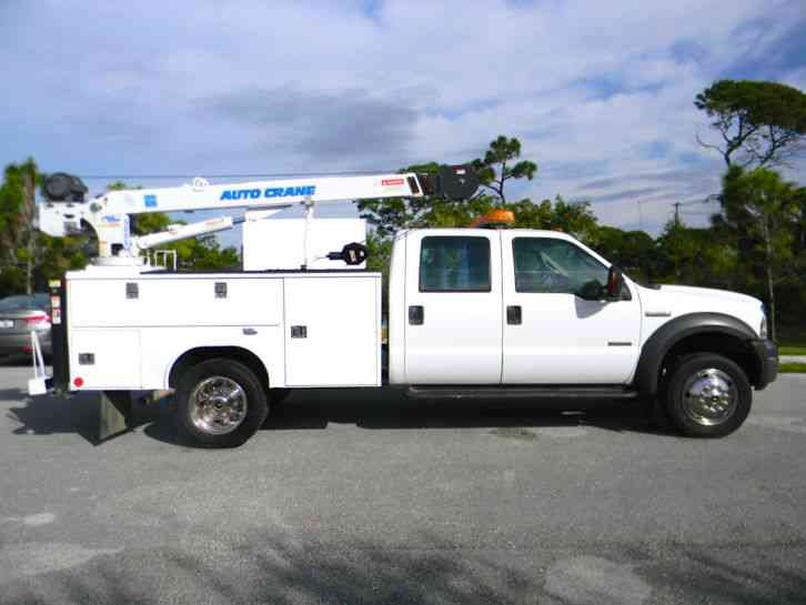Ford F 550 For Sale >> Ford F450 (2005) : Utility / Service Trucks