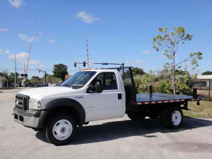 Ford F550 Super Duty Flatbed 4x4 (2005)
