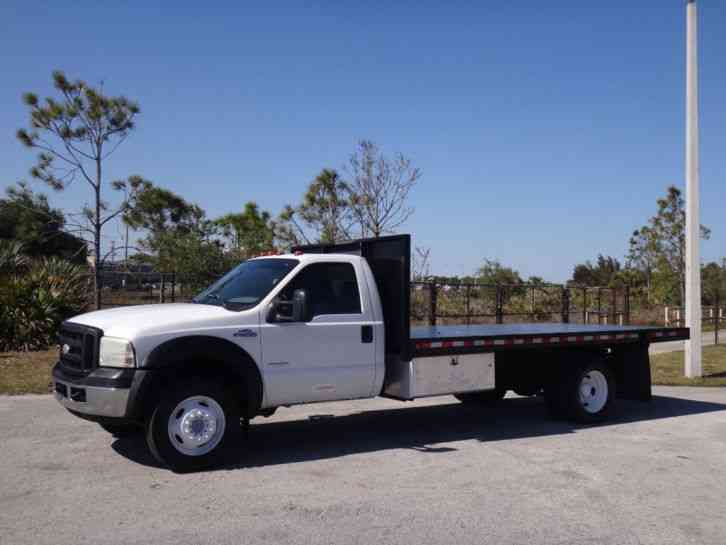 Ford F550 Super Duty Flatbed (2005)