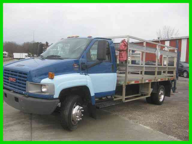GMC C4500 6. 6L TURBO DIESEL ALLISON WITH 13' ALUMIUNUM STAKE BED (2005)
