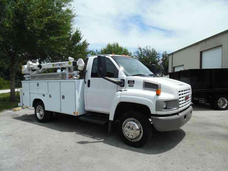 Imt Service Truck Bumper Step : Gmc c  utility service trucks