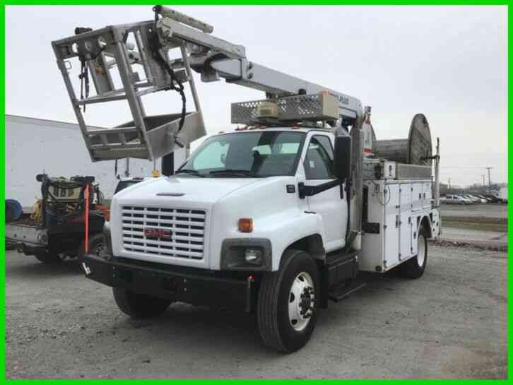 GMC C8500 C7 CAT, ALLISON, AC WITH POSI-PLUS 800 CABLE PLACER (2005)