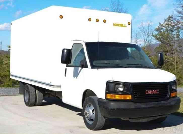 Gmc Savana 3500 16ft Box Truck 2005 Van Box Trucks