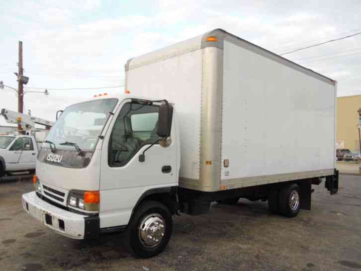 Isuzu Npr 16ft Box Straight Truck Dock Height Diesel 2005