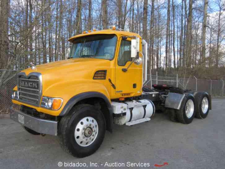 Heavy Truck Pto : Mack cv daycab semi trucks