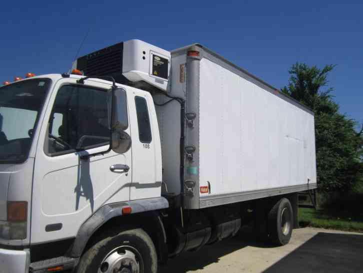 Isuzu Npr Hd 2009 Van Box Trucks