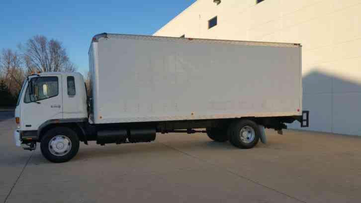 Mitsubishi Fuso Fm Ft Box Truck Speed K Miles Clean Under Cdl