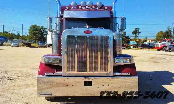 Peterbilt 379 2005 sleeper semi trucks for Wood floor for 379 peterbilt