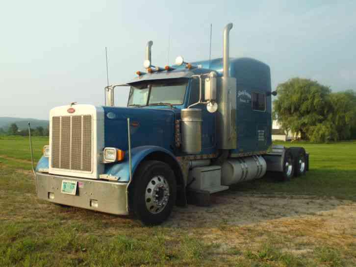 Semi Truck Transmissions : Peterbilt sleeper cab semi trucks