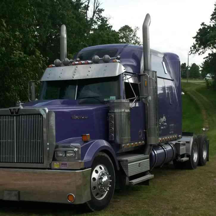 Western Star 4900 >> Western Star 4900 Ex Low Max 2005 Sleeper Semi Trucks