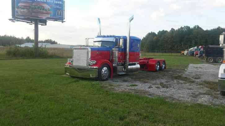 Peterbilt 379 2006 sleeper semi trucks for Wood floor for 379 peterbilt