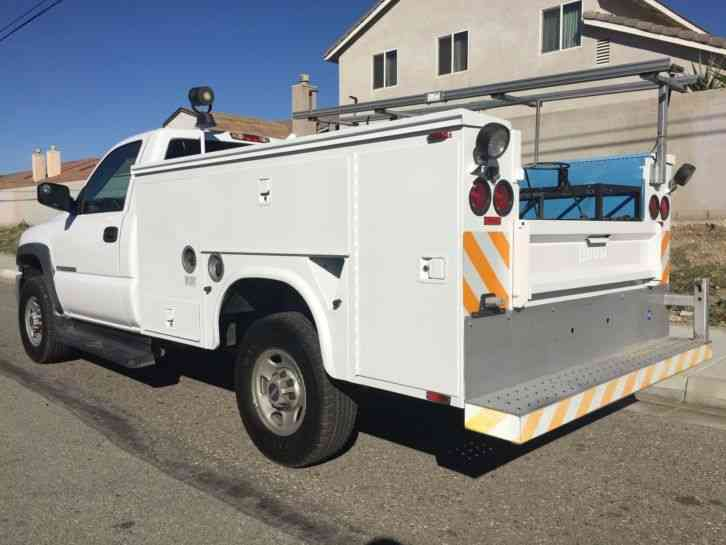 Chevrolet 2500HD (2006) : Utility / Service Trucks
