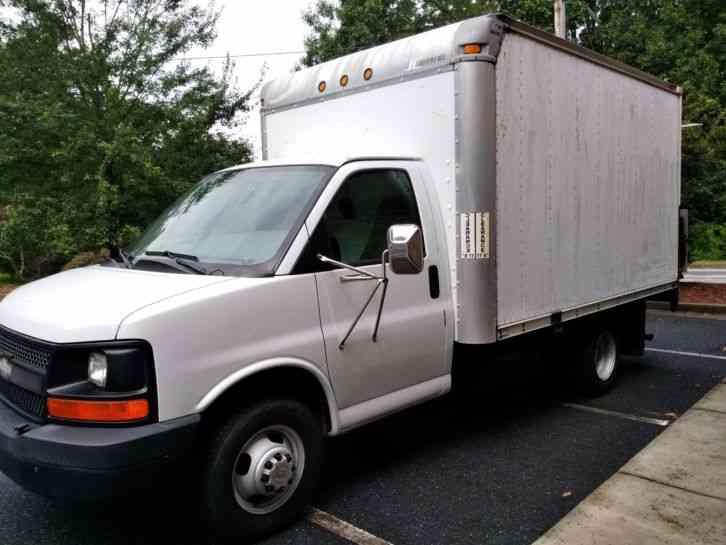 chevrolet express 3500 box truck 2006 van box trucks. Black Bedroom Furniture Sets. Home Design Ideas
