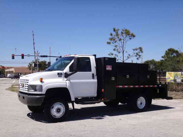Chevrolet C4500 4x4 Service Utility Truck (2006)