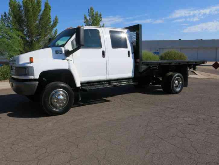 C4500 For Sale >> Chevrolet C4500 Chevrolet 4500 Kodiak Crew Cab Flatbed 4x4 (2006) : Commercial Pickups