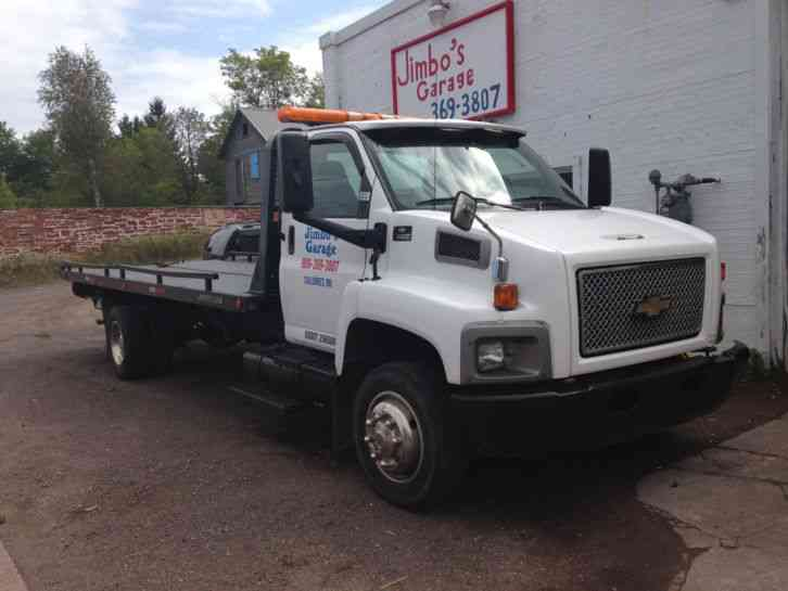 Chevrolet c6500 2006 flatbeds rollbacks for Used tow motors for sale