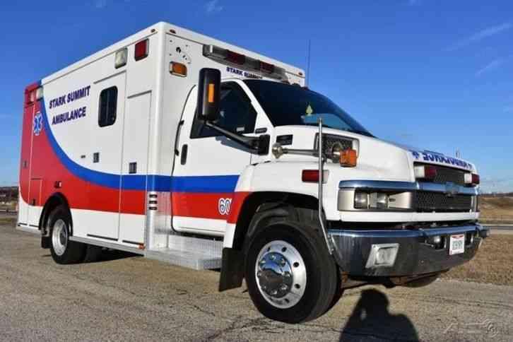 Chevrolet C4500 Ambulance (2006) : Emergency & Fire Trucks