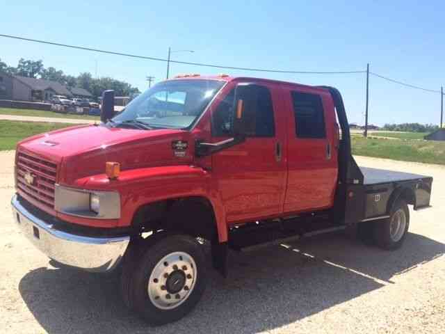 Chevy C Crew Cab X Duramax Allison Fully Loaded With Big Tex Haul Bed