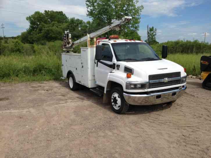 Chevy Kodiak C Mechanics Truck Service Truck on Chevrolet C5500 Duramax Diesel Engine