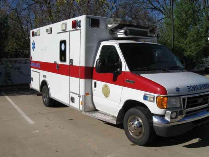 Ford E450  2006    Emergency  U0026 Fire Trucks