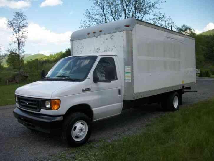 ford e350 2006 van box trucks. Black Bedroom Furniture Sets. Home Design Ideas