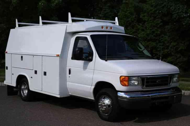 Ford E350 2006 Utility Service Trucks