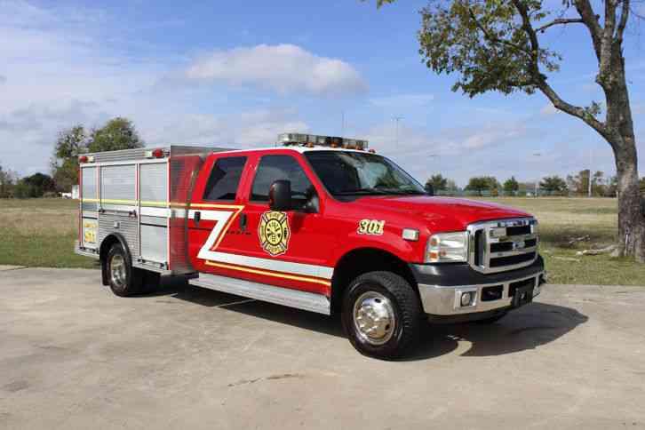 ford f350  2006  emergency  u0026 fire trucks
