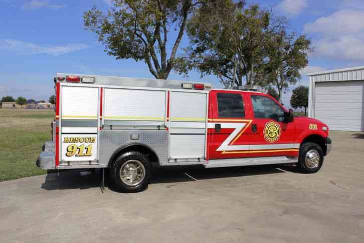 Ford F350 2006 Emergency Amp Fire Trucks