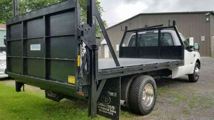 Ford f350 stake body with hd lift gate (2006) : Light Duty ...