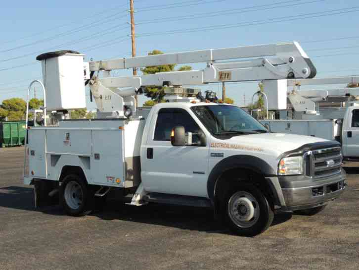Ford F550 2006 Bucket Boom Trucks