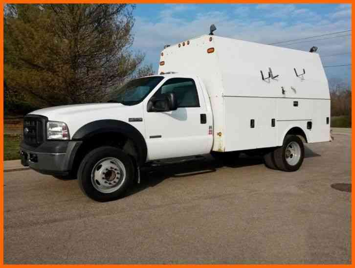 F550 For Sale >> Ford F550 ENCLOSED SERVICE TRUCK (2006) : Utility / Service Trucks