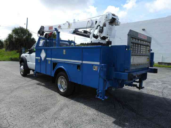Ford Powerstroke For Sale >> Ford F550 (2006) : Utility / Service Trucks