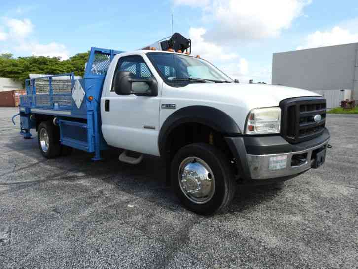 Flatbed Tow Truck >> Ford F550 (2006) : Utility / Service Trucks