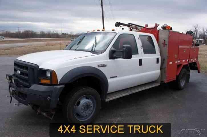 International 4900 2000 utility service trucks for International motors st charles mo