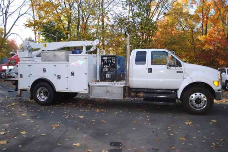 Ford F Welding Service Truck