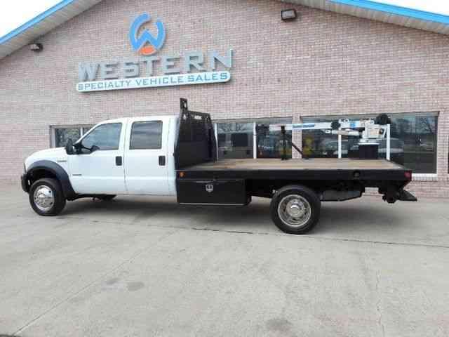 4X4 Van For Sale >> Ford Crane Truck 4x4 (2006) : Utility / Service Trucks
