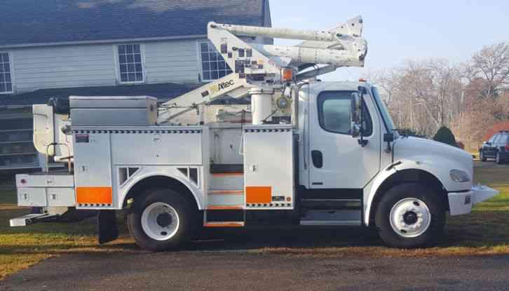 ford  chipper truck  bucket boom trucks