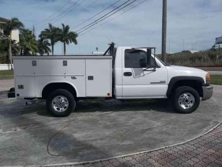 Gmc 2500hd Diesel Utility Service Tool Box Florida 2006