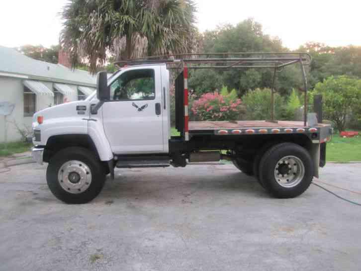 Medium duty 4x4 truck