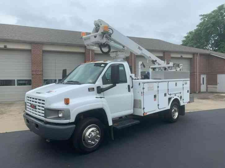 GMC C5500 41FT ALTEC BUCKET TRUCK BOOM SERVICE BED (2006)