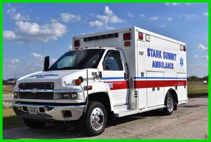 GMC 4500 TOPKICK Ambulance (2008)
