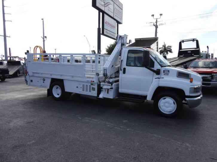 Gmc C5500 Fec 4416 Knuckle Boom Tire Truck 2006