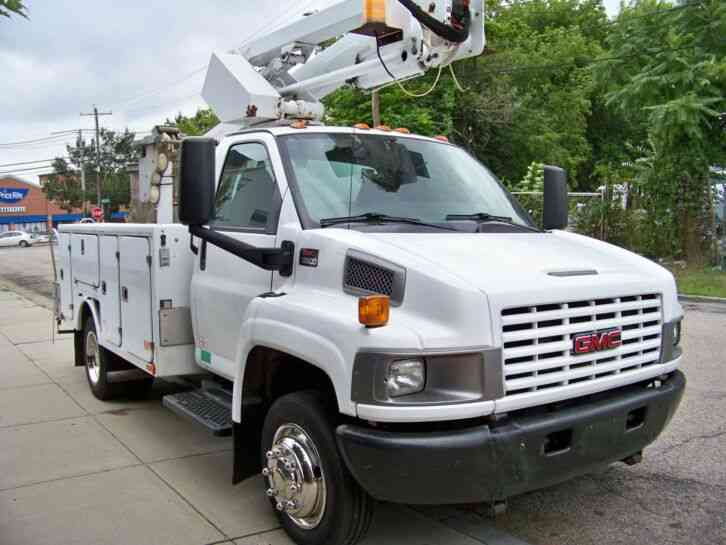 GMC C5500 TCP36 CABLE PLACER TOPKICK BUCKET TRUCK (2006)
