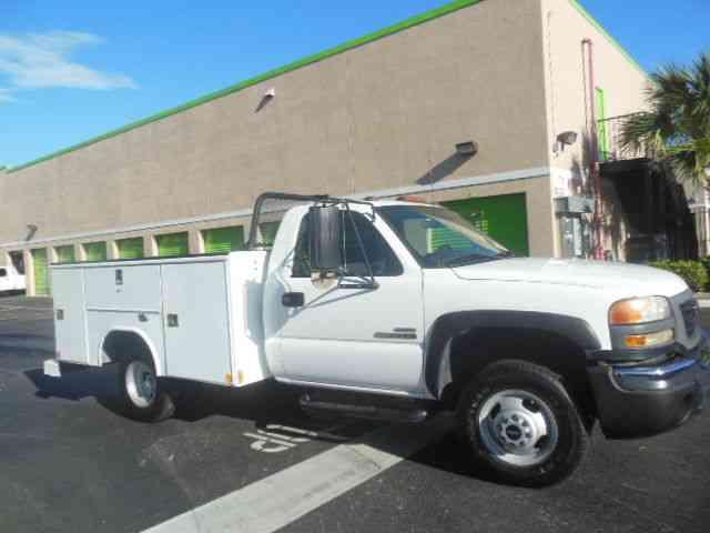 Gmc 3500 Sierra 1 Ton Utility Truck Allison Trans 2006