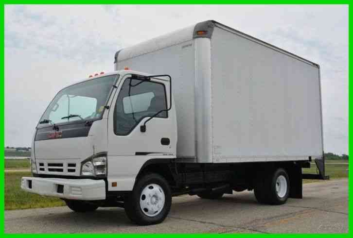 GMC W3500 14ft Box Truck (2006)