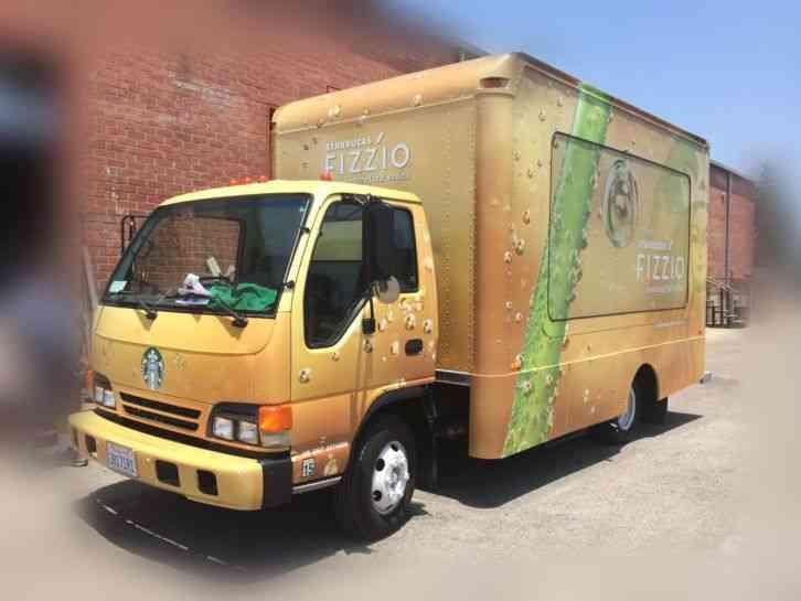 Isuzu Box Truck Food Truck