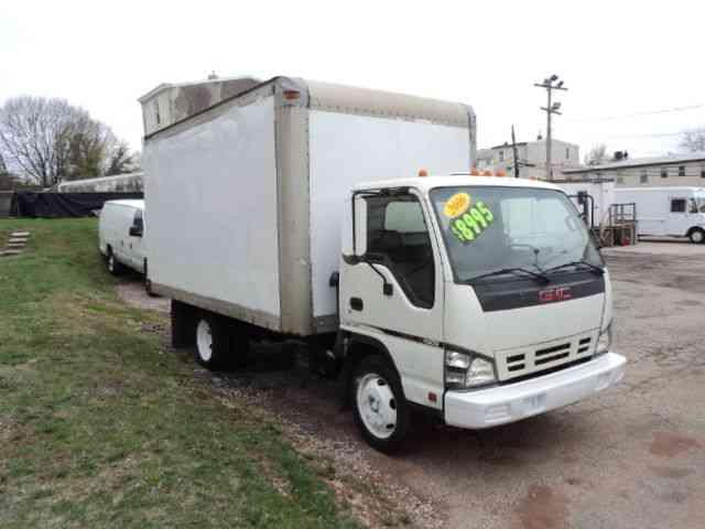 Gmc W4500 2006 Van Box Trucks