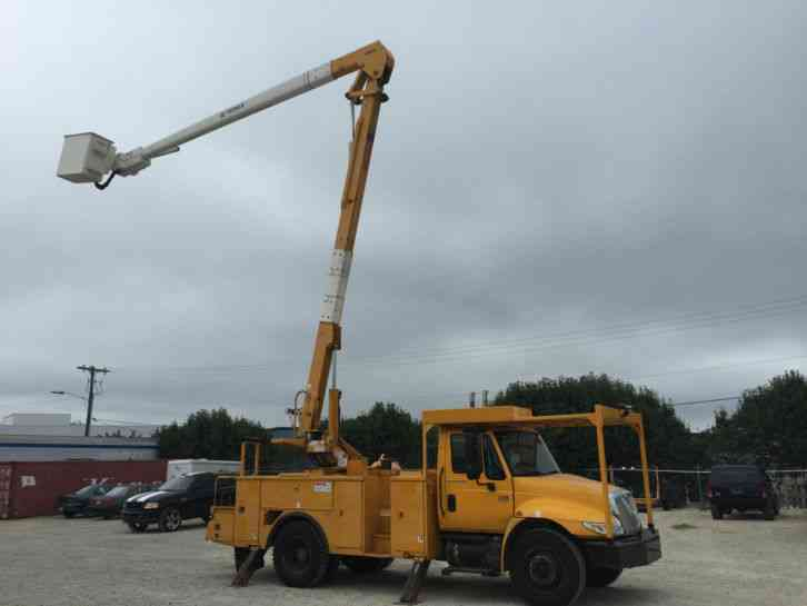 Ford F550 2008 Bucket Boom Trucks
