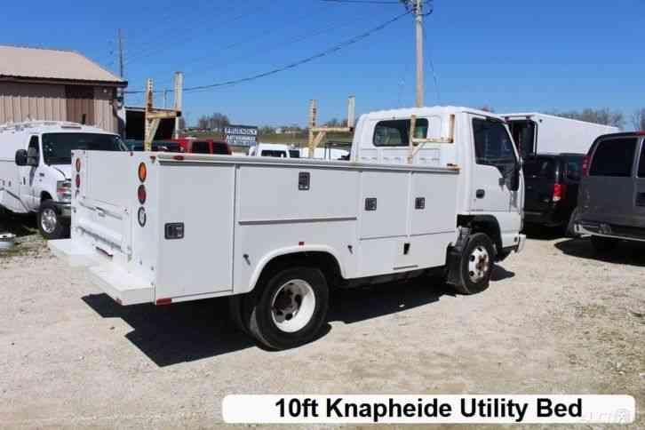 Utility Truck Beds For Sale >> Isuzu NPR (2006) : Utility / Service Trucks
