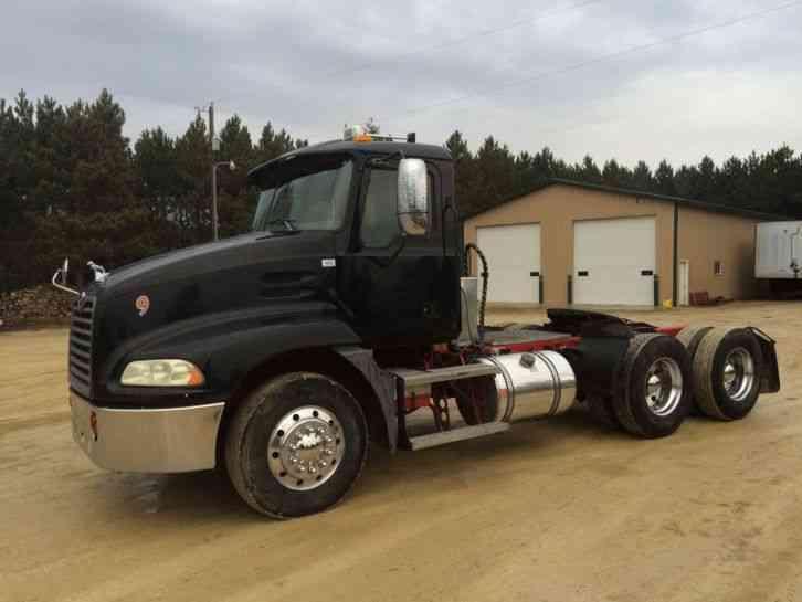 Mack Truck Wet Kit : Mack vision cxn  daycab semi trucks